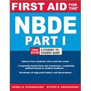 First Aid for the NBDE Part 1, Third Edition,9780071769044