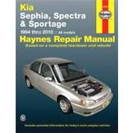 Haynes Kia Sephia, Spectra & Sportage 1994 Thru 2010 Automot..., 9781563929083