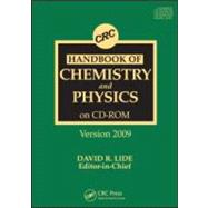 CRC Handbook of Chemistry and Physics CD-ROM Version 2009,9781420089097