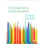 A Companion to Survey Research,9781446209097