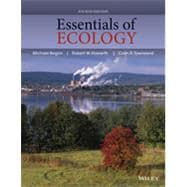 Essentials of Ecology,9780470909133