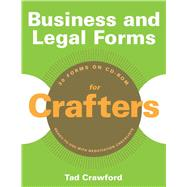 Business and Legal Forms for Crafters, 9781581159158