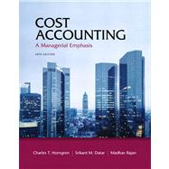 Cost Accounting,9780132109178