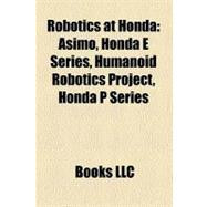 Robotics at Honda, 9781158469178  