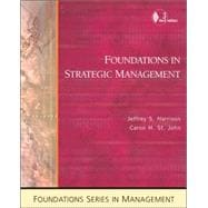 Foundations in Strategic Management With Infotrac