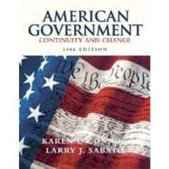 American Government: Continuity and Change, 2006 Edition (Paperbound)