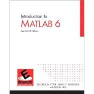 Introduction to MatLAB 6-6.5 Update Edition