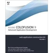Adobe ColdFusion 9 Web Application Construction Kit, Volume ..., 9780321679208  