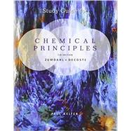 Study Guide for Zumdahl/DeCoste's Chemical Principles, 7th,9781133109242