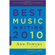 Best Music Writing 2010, 9780306819254  