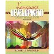 Language Development : An Introduction,9780205319268