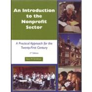 Introduction to the Nonprofit Sector: A Practical Approach for the 21st Century,9781929109272