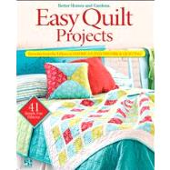 Easy Quilt Projects : Favorites from the Editors of American..., 9780470559314  