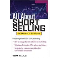 All About Short Selling, 9780071759342  