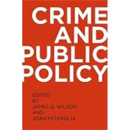 Crime and Public Policy,9780195399356
