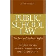 Public School Law : Teachers' and Students' Rights,9780205579372