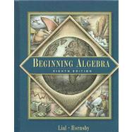 Beginning Algebra,9780201799385