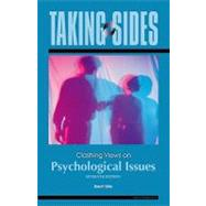 Taking Sides: Clashing Views on Psychological Issues,9780078139420