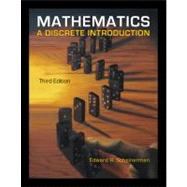 Mathematics : A Discrete Introduction,9780840049421