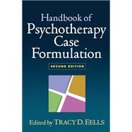 Handbook of Psychotherapy Case Formulation, Second Edition, 9781606239421  