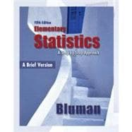 Elementary Statistics, A Brief Version 5th Edition