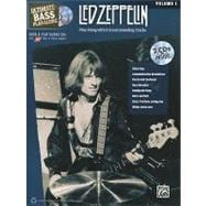 Ultimate Bass Play-along Led Zeppelin, Vol 1 : Play along wi..., 9780739059425  