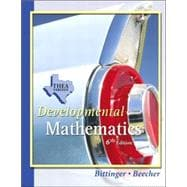 Developmental Mathematics THEA Update Version,9780321279460