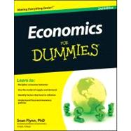 Economics For Dummies, 9780470879481  