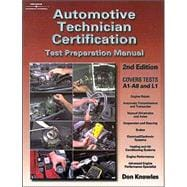 Automotive Technician Certification : Test Preparation Manual,9780766819481
