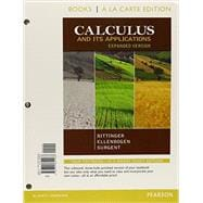 Calculus and Its Applications, Expanded Version, Books a la Carte Edition Plus NEW MyMathLab with Pearson eText with Pearson eText -- Access Card Package,9780321869494
