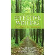 Effective Writing: A Handbook for Accountants,9780133579499