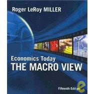 Economics Today: The Macro View plus MyEconLab 1-semester Student Access Kit