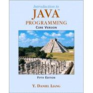 Introduction to Java Programming, Core