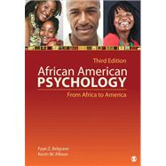 African American Psychology : From Africa to America,9781412999540