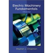 Electric Machinery Fundamentals,9780073529547