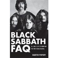 Black Sabbath FAQ : All That's Left to Know on the First Nam..., 9780879309572  