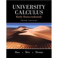 University Calculus Early Transcendentals Plus MyMathLab -- Access Card Package