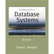 Fundamentals of Database Systems,9780321369574