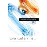Evangelism Is . . . How to Share Jesus with Passion and Confidence,9780805449594