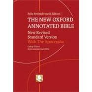 The New Oxford Annotated Bible with Apocrypha New Revised Standard Version, College Edition,9780195289596