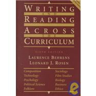 Writing and Reading Across the Curriculum,9780321049612