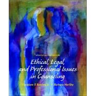 Ethical, Legal, and Professional Issues in Counseling, Updated