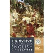Norton Anthology of English Literature, the Major Authors,9780393919639