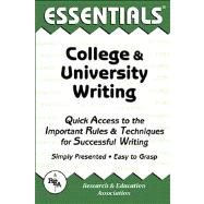 The Essentials of College & University Writing,9780878919642