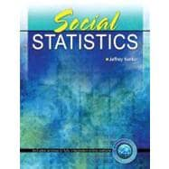  Social Statistics, 9780757569654  