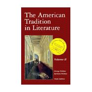 American Tradition in Literature Vol. 2 : With OLC Card,9780072359657