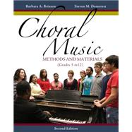 Choral Music Methods and Materials,9781133599661