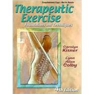 Therapeutic Exercise : Foundations and Techniques,9780803609686