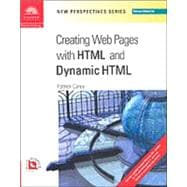 New Perspectives on Creating Web Pages with HTML and Dynamic HTML - Comprehensive