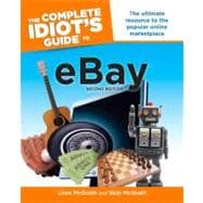 The Complete Idiot's Guide to eBay, 2nd Edition, 9781592579693  